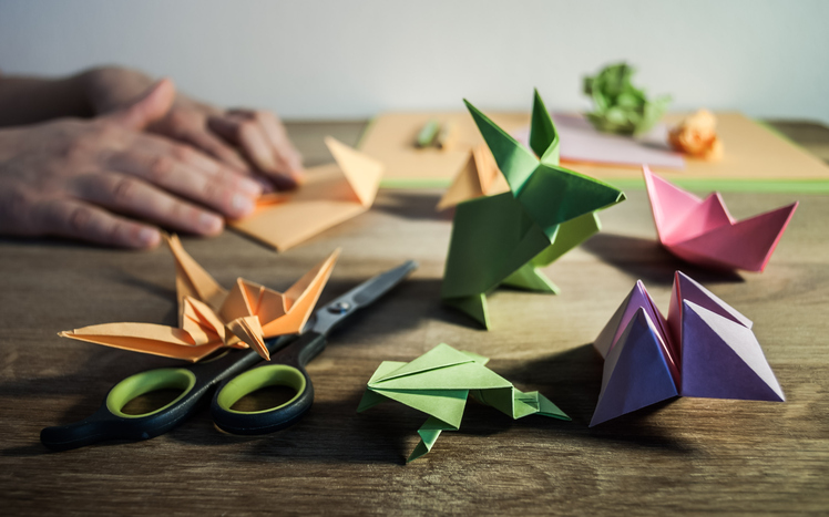 origami hobby